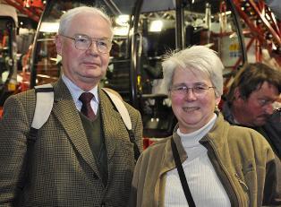 Hélène et Michel Preveraud De Vaumas, céréaliers et éleveurs de brebis dans l'Eure