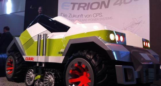 L'Etrion 400, un nouveau concept de tracteur
