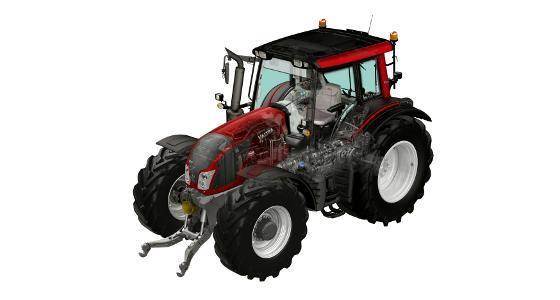 La transmission HiTech 5 est disponible sur les tracteurs Valtra N113 et N123
