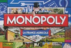 Jeu du monopoly version agricole