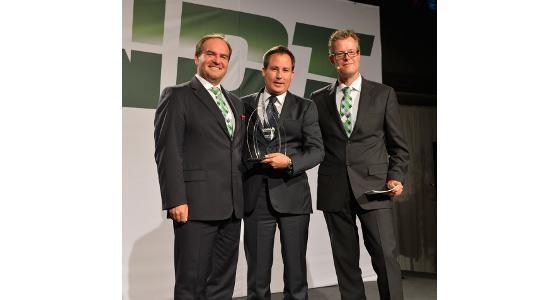 Trelleborg reçoit le « prix du fournisseur de l'année 2012 » par Agco