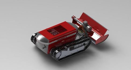 Un automoteur hybride radiocommandé chez Dario Developpement