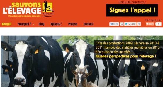 « Sauvons l'élevage ! » à Nantes et à Tulle où la CP dévoilera son plan