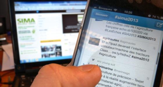 #sima2013 pour suivre en direct toute l'actualité du salon
