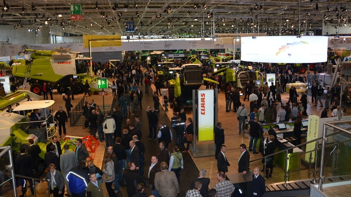 Stand Claas à Agritechnica