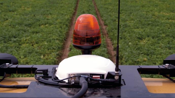 Antenne sur RoGator 600