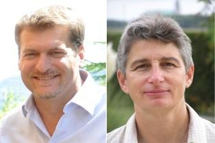Jérôme Rouveure et Chrystelle Marie