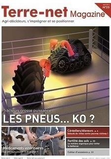 Couverture Terre-net Magazine n°25