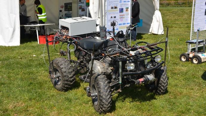 projet ActiSurTT de l'Irstea : système anti-retournement sur quad