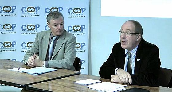 Philippe Mangin, président de Coop de France est satisfait par la victoire syndicale remportée.